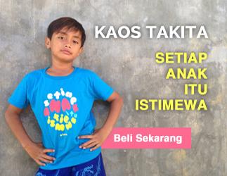 Pesan Kaos Setiap Anak Itu Istimewa