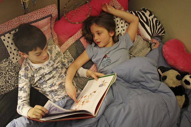 bakat anak gemar membaca