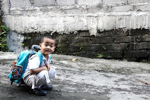 bakat anak hari pertama sekolah 2