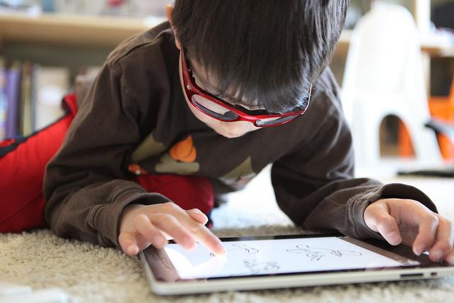 bakat anak menggunakan gadget