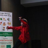 menari klasik suara anak keenam mengapresiasi ketekunan belajar kemauan belajar