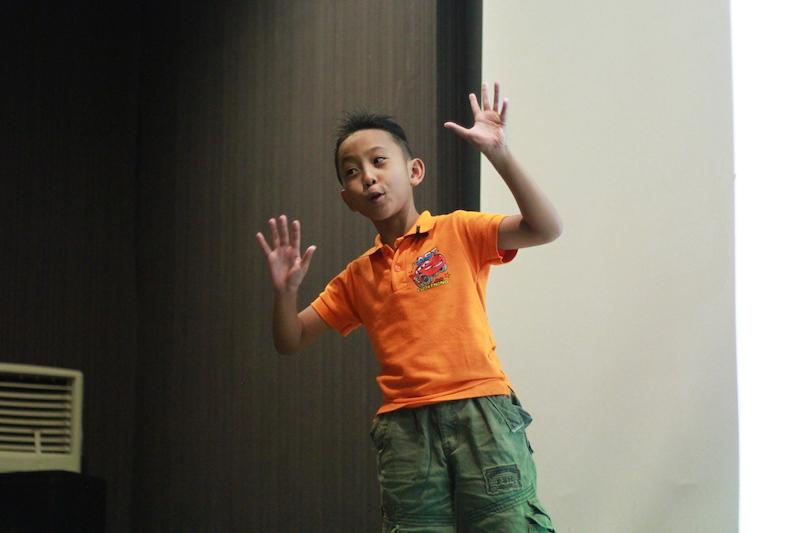 suara anak keenam mengapresiasi ketekunan belajar kemauan belajar